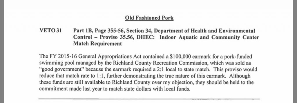 No New Money For Richland County Recreation Commission